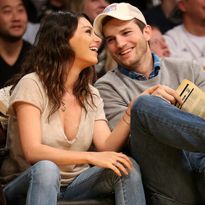 Ashton Kutcher Gave Mila Kunis a Vibrating Foam Roller—And It Probably Rocked Her World