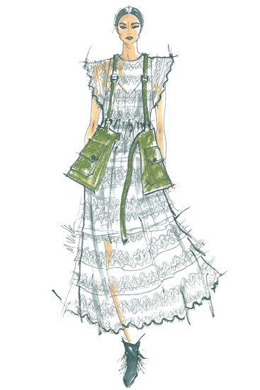 Designer Sketches From New York Fashion Week Spring 2016