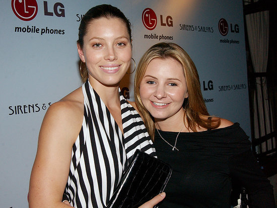 Jessica Biel and Beverley Mitchell Catch Up at Mini 7th Heaven Reunion