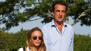 Mary-Kate Olsen, 29, and Fiance Olivier Sarkozy, 46, Hold Hands in the Hamptons
