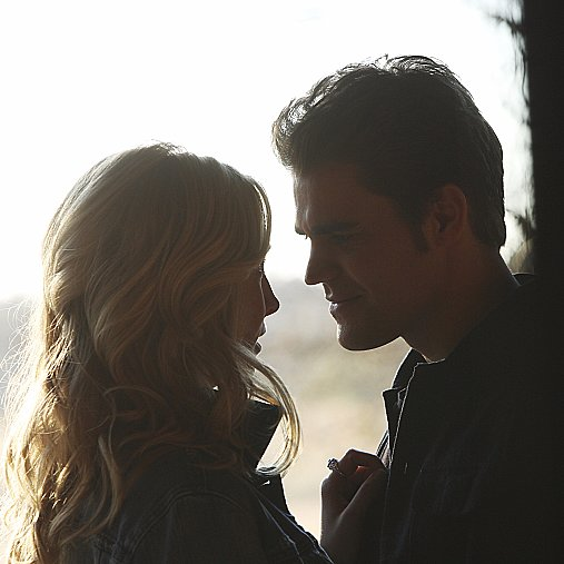 Caroline and Stefan GIFs From The Vampire Diaries