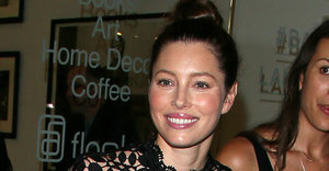 Jessica Biel Supports Her Brother At First Public Appearance Since Welcoming Baby Silas