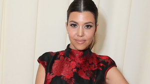 Kourtney Kardashian & Baby Reign Get 'Serious' in Rare Instagram Photo