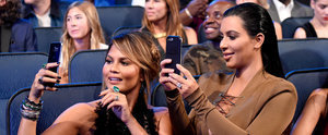 Everything About Kim Kardashian and Chrissy Teigen's Selfie Went Hilariously Wrong