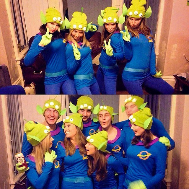 Toy Story's Little Green Men