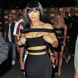 Kylie Jenner Wears Bandage Dress to VMAs Afterparty