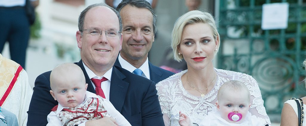Monaco's Princess Charlene and Prince Albert Make an Appearance With the Royal Twins and OMG They're So Cute
