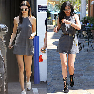 Kylie and Kendall Jenner Wearing Revolve Dress