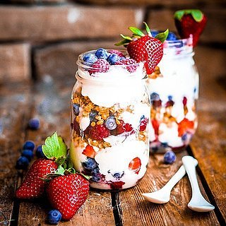 Healthy Mason Jar Snack Ideas