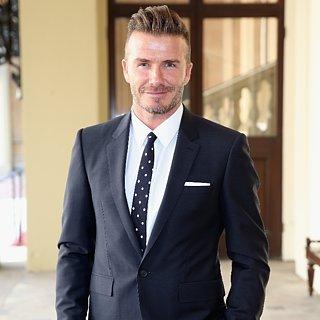 David Beckham's Buster Tattoo For Brooklyn Beckham