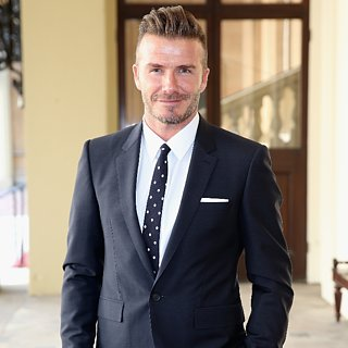 David Beckham Honours His Son