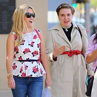 Reese Witherspoon and Lena Dunham Step Out in LA