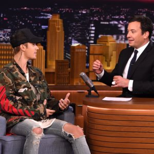 Justin Bieber Talks About Crying at the VMAs on Tonight Show
