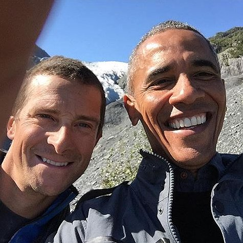 President Obama Shows Off His Selfie Skills in Wild Photo With Bear Grylls
