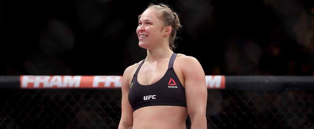 Ronda Rousey Accepts Invite to the Marine Corps Ball, Our Hearts Melt