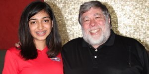 How this 14-year-old tech entrepreneur scored an hour interview with Apple cofounder Steve Wozniak
