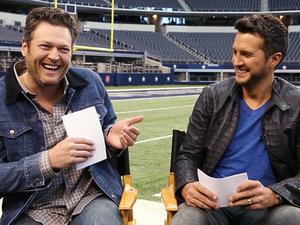 VIDEO: Blake Shelton & Luke Bryan Play 'Would You Rather?'