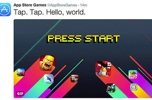Apple Gives App Store Games A Dedicated Twitter Feed