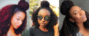 This Is the Half-Up Hairstyle Every Cool Curly Girl Is Wearing