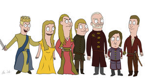 Check Out 'Game of Thrones' Characters Drawn as 'Bob's Burgers' Characters