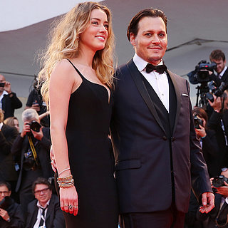 Johnny Depp and Amber Heard Make a Stunning Appearance in Venice
