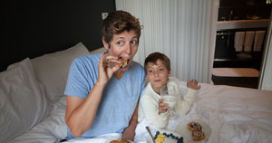 CNN's Sally Kohn Believes in the Power of Breakfast in Bed