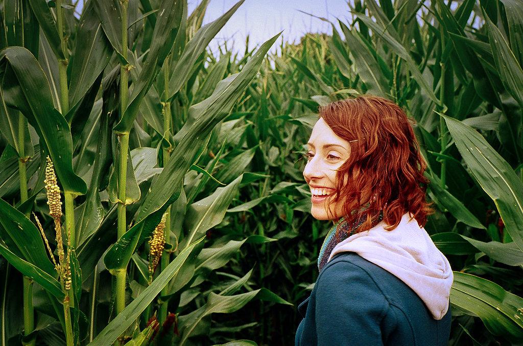 Do a Late-Night Corn Maze