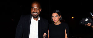 Kanye West Is All Smiles During His Stunning Night Out With Kim Kardashian