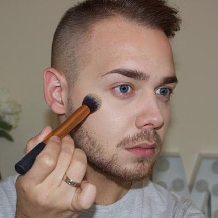 Makeup For Men Tutorial
