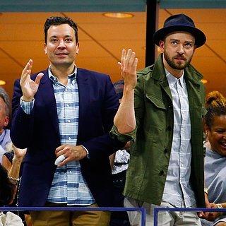 Justin Timberlake und Jimmy Fallon tanzen bei den US Open