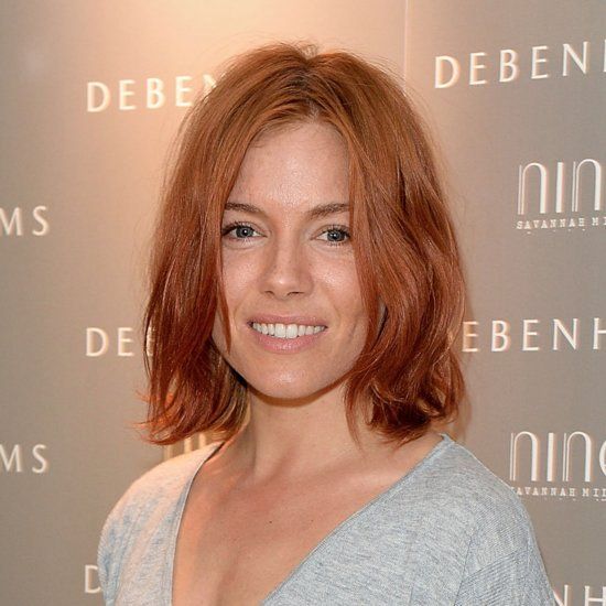 Sienna Miller Red Hair 2015