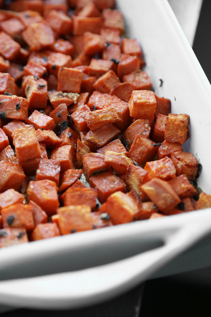 Twice-Cooked Sweet Potatoes With Honey