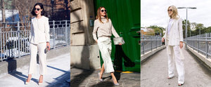 How Street Style Stars Nail the Neutral Look