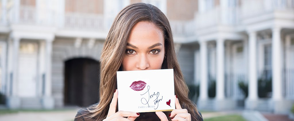 Joan Smalls's No. 1 Rule For Rocking a Bold Lip This Fall