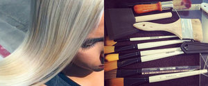 Hand-Pressed Hair Colour Is the Coolest Thing You'll See Today