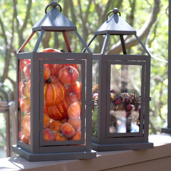 DIY Fall Lanterns