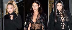 The Fashion Crew Got All Laced Up For Carine Roitfeld's Dinner Party