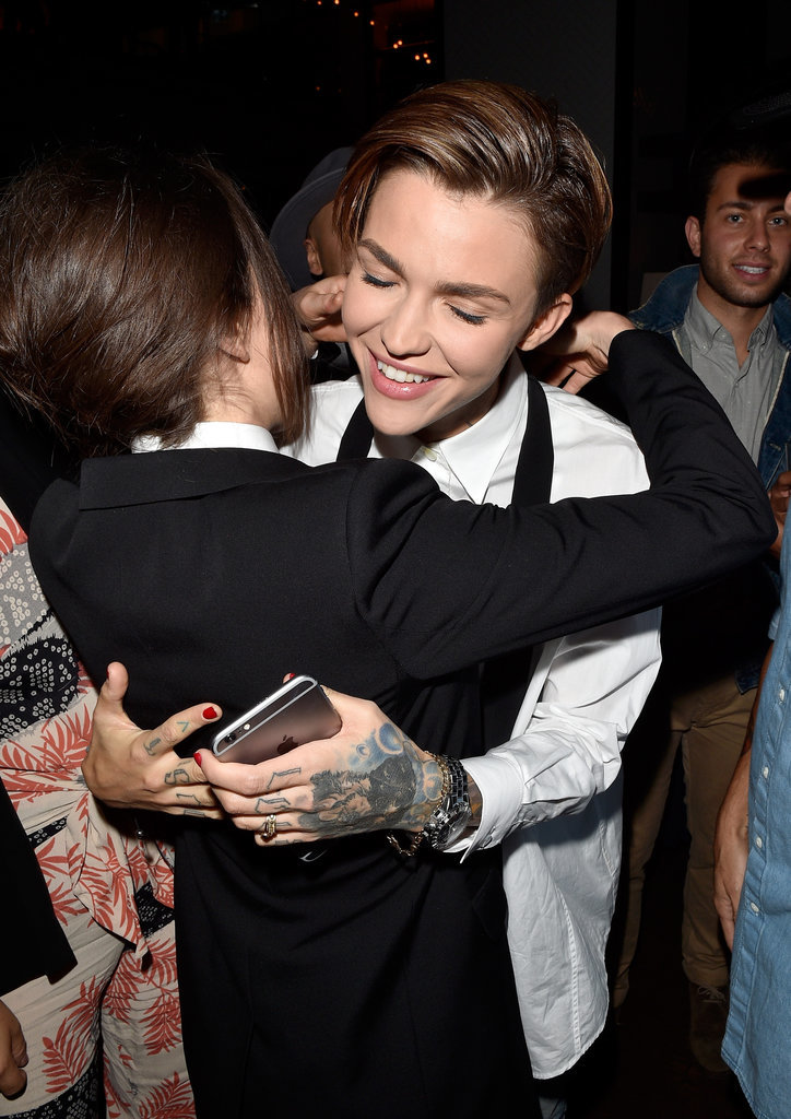 Ellen Page and Ruby Rose