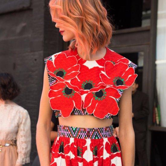Beauty Street Style New York Fashion Week Spring 2016