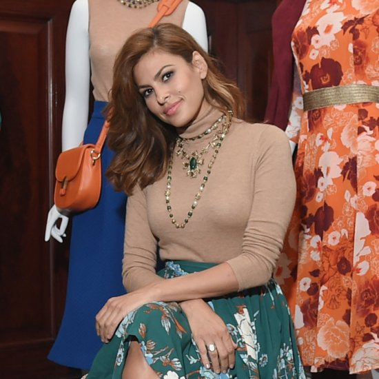Eva Mendes Wears New York & Company Designs