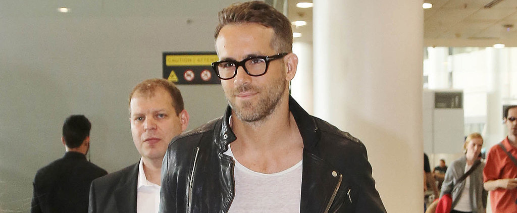 Ryan Reynolds Shows Off His Sexy Smolder in a Casual Appearance