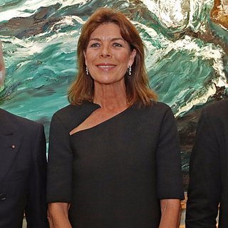 Princess Caroline of Monaco at Art Gallery Opening