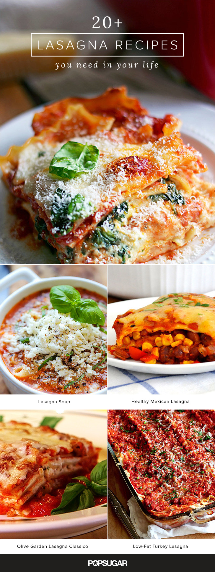 Lasagna Recipes Popsugar Food