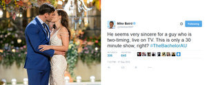 The Real Winner of The Bachelor Was Mike Baird's Twitter Account