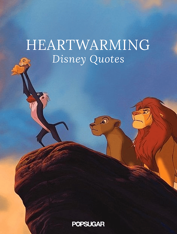 Quotes about friendship in disney movies : Best disney quotes popsugar smart living