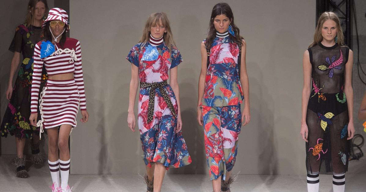House of Holland Spring 2016 Show | London Fashion Week | POPSUGAR Fashion UK
