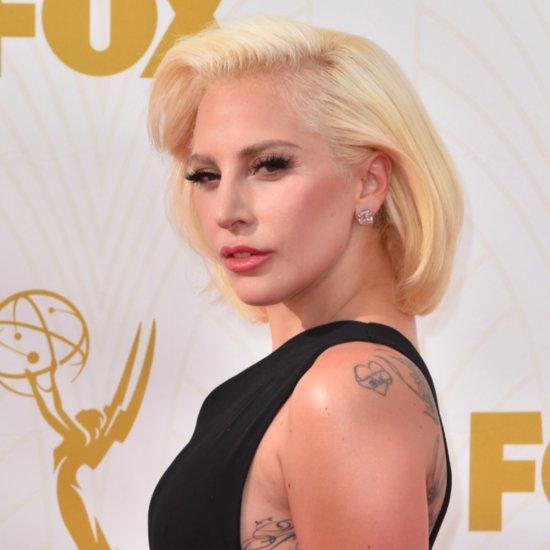 Lady Gaga at the Emmys 2015