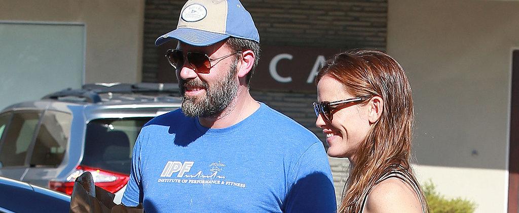 Jennifer Garner and Ben Affleck Smile Big on a Weekend Family Outing