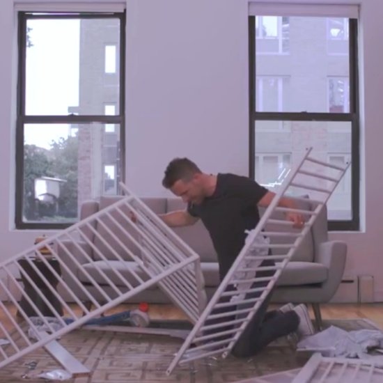 Ryan Reynolds Assembling Ikea Furniture