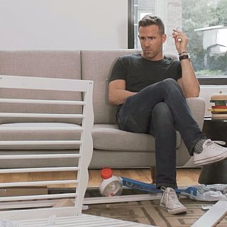 Video of Ryan Reynolds Putting Together Crib